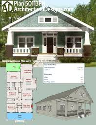 bungalow house plans with porches hahnow