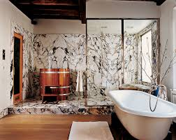 Wallpaper In Bathroom Ideas 7 Rare Retro Bathroom Ideas From The Pages Of Vogue Magazine