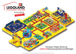 Detroit Michigan Map by Metro Detroit Mommy Legoland Discovery Center Michigan The