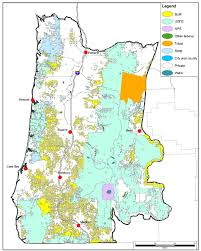 Newport Oregon Map by Feasibility Assessment For The Reintroduction Of Fishers In