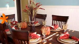 Decorating Ideas Dining Room Autumn Table Setting Ideas Fall Table Decorations Youtube