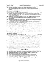 Resume Samples For Experienced Mechanical Engineers by Mechanical Engineering Resume Resume Mechanical Engineering