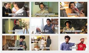 All of Ben Schwartz     s occupations over the years   Source and gif     All of Ben Schwartz     s occupations over the years   Source and gif version in comments