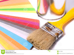 Color Swatches Paint by Brush Over Color Swatches Stock Photo Image 49712809
