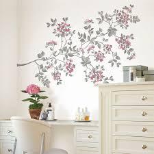 disney princess multicolour self adhesive wall sticker l 700mm w cherry blossom multicolour self adhesive wall sticker h 99cm