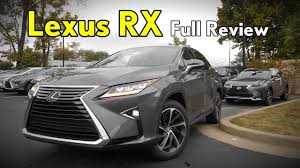 lexus rx400h turbo 2017 lexus rx 350 full review luxury premium base u0026 f sport