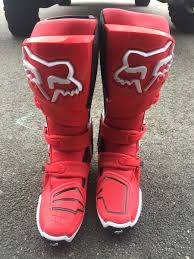 fox instinct motocross boots fs new fox instinct boots size 11 3 pairs u0026 leatt carbon neck