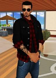 On IMVU you can customize  D avatars and chat rooms using millions of products available in Pinterest