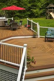 backyard decks and patios ideas 378 best composite decks by fiberon images on pinterest
