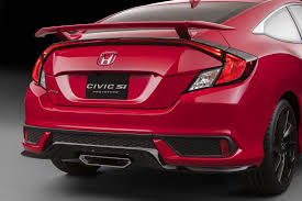 watch honda u0027s reveal of the 2018 civic si coupe and sedan at 11am est