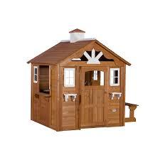 amazon com backyard discovery summer cottage all cedar wood