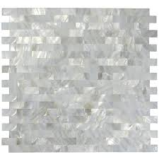 Wall Tiles Kitchen Backsplash by White Mother Of Pearl Tile Shell Mosaic Tile Kitchen Backsplash
