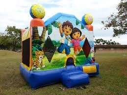 halloween bounce house dora u0026 diego bounce house rental in miami