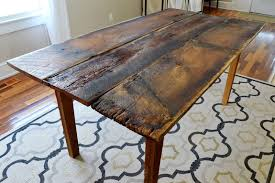 Farm Dining Room Table 724 South House From Farmhouse To Our House Dining Room Table