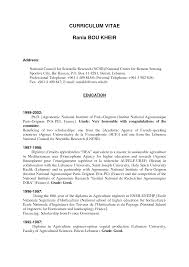 Resume Australia Examples by Resume Template For Australia Latex Templates Curricula Vitae R