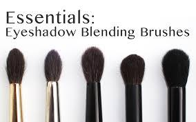 essentials eyeshadow blending brushes youtube