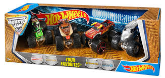how many monster jam trucks are there amazon com wheels monster jam tour favorites u2013 styles may