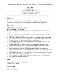 Scholarship Resume Examples by Example Of Objective In Resume Resume Templates