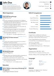 Breakupus Picturesque Resume Sample Resume Cv With Remarkable     Breakupus Scenic Rsum Templates Tailored For Your Job Novorsum With Lovable Professional Rsum Template With Amusing