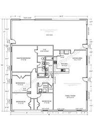 Metal Shop With Living Quarters Floor Plans Barndominium Cost References In Texas Large Bathrooms Study