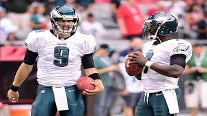 Michael Vick and Nick Foles