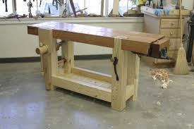Plans For Building A Wooden Workbench by Video Roubo Workbench Tour Popular Woodworking Magazine