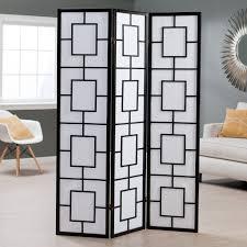 shutter room divider kavari canvas 3 panel room divider rosewood hayneedle