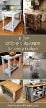 Add Kitchen Island 15 Gorgeous Diy Kitchen Islands For Every Budget