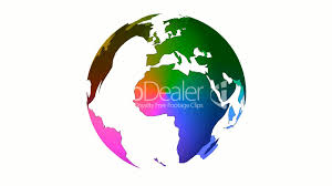 Colored World Map by Colored World Royalty Free Video And Stock Footage