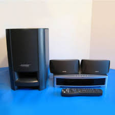 bose home theater systems 2 1 home theater system 2 1 surround system used soundbar