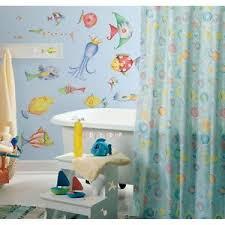 Tropical Themed Bathroom Ideas Sea Creatures Wall Decals Tropical Fish Bathroom Stickers Room
