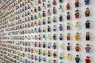 1,200 Minifigure LEGO Office Wall by Acrylicize | HiConsumption