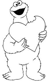 5 fancy cookie monster coloring pages ngbasic com