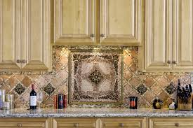 kitchen 19 best kitchen backsplash tile plaque medallion metal