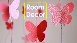 diy butterflies wall room decor make paper butterflies easy