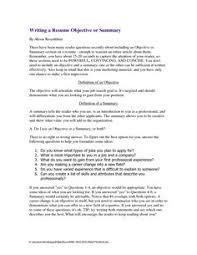Summary Sample Resume by Resume Summary Of Qualifications Http Topresume Info Resume