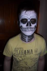 Skeleton Makeup For Halloween by Gothic Partyface Page 5