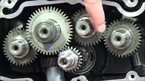 how to install and time sportster camshafts close up view same as