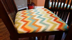 how to recover chair cushions diy youtube