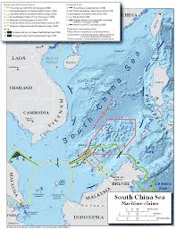China Google Maps by Territorial Claims U2013 Maps The South China Sea