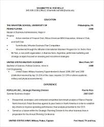 Ex Military Resume Examples by Military Resume 8 Free Word Pdf Documents Download Free