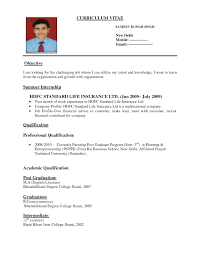 Resume Format For Engineers      Template net