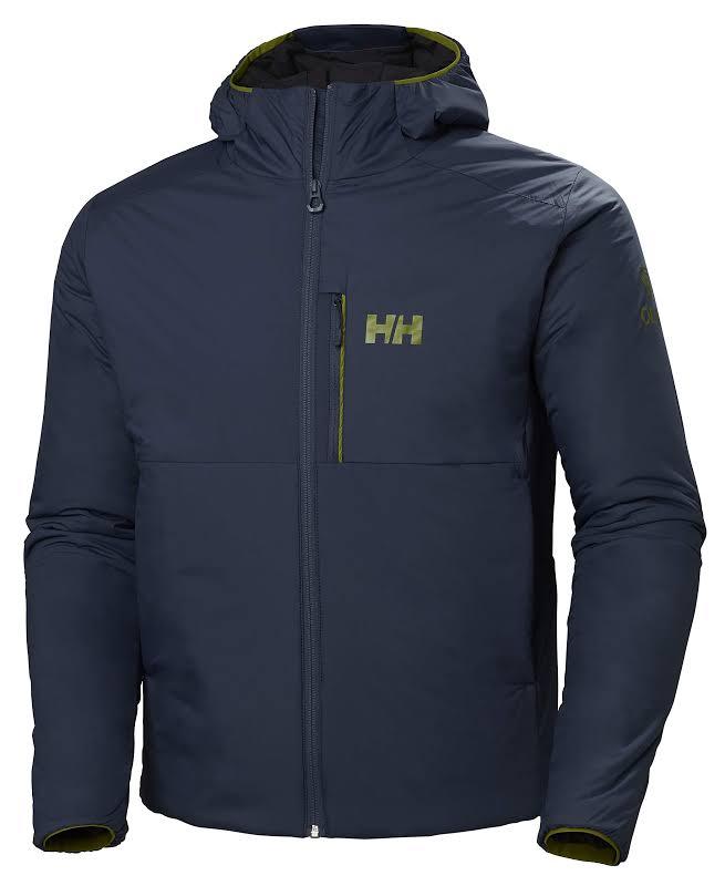 Helly Hansen Odin Stretch Hooded Insulated Jacket North Sea Blue Medium 62833-603-M