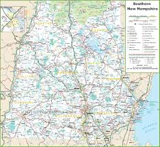 Map Of Washington Cities by Map Of Southern New Hampshire
