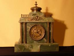 Ansonia Mantel Clock Mantel Clocks Victorian Clocks Antique Clocks Onyx Clocks