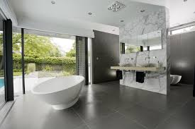 magnificent modern bathroom design ideas with white oval vessel