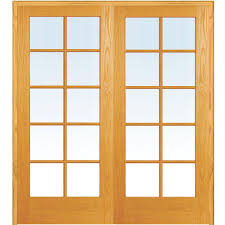 Home Depot Interior Double Doors Mmi Door 49 5 In X 81 75 In Classic Clear Glass 10 Lite True
