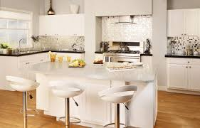 granite countertop backsplashes for white kitchen cabinets how