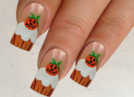 nail art pumpkin nail art designspumpkin designs best halloween