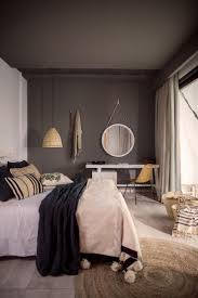 best 25 dark grey bedrooms ideas on pinterest charcoal paint this is a great way to make grey feel really warm in a bedroom space